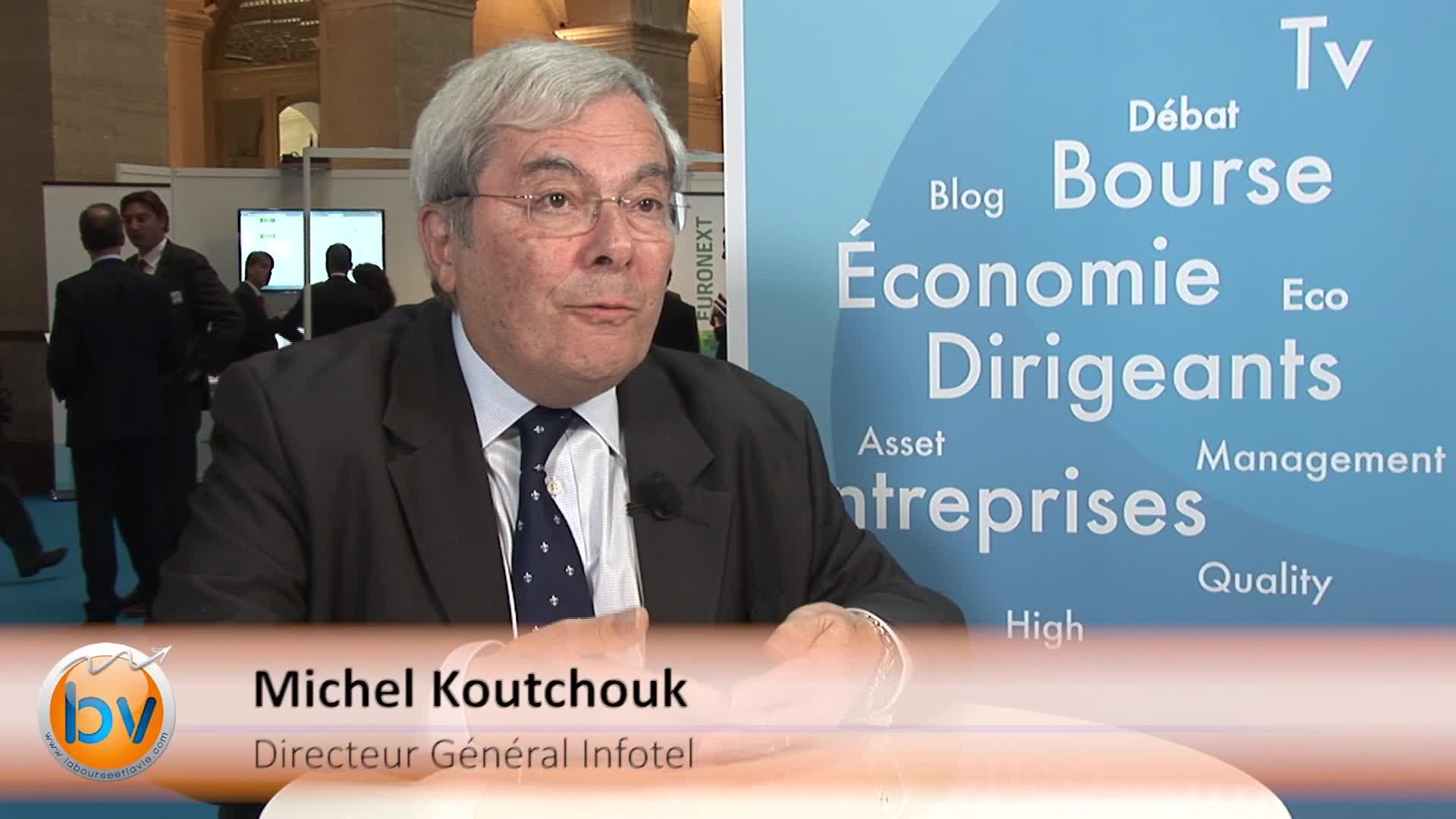 """Michel Koutchouk Directeur Général Infotel : """"À l'international, pour les services, nous envisageons des JV"""""""