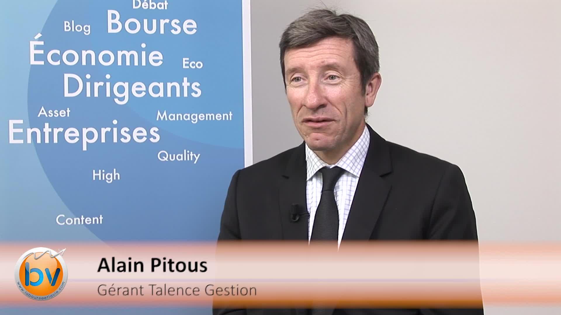 """Alain Pitous Gérant Talence Gestion : """"Plutôt favorable aux actions européennes"""""""