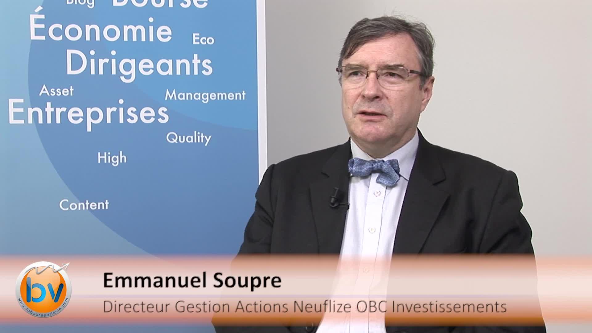 Emmanuel Soupre Directeur Gestion Actions Neuflize OBC Investissements : «Il y a des opportunités sur les actions»