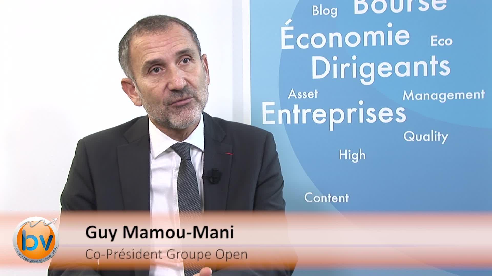 """Guy Mamou-Mani Co-Président Groupe Open : """"Ce plan ne se fera pas au détriment de la progression de nos résultats"""""""