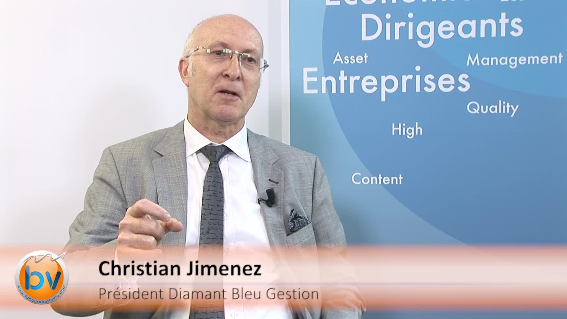 """Christian Jimenez Président Diamant Bleu Gestion : """"La préférence sur les actions européennes demeure"""""""
