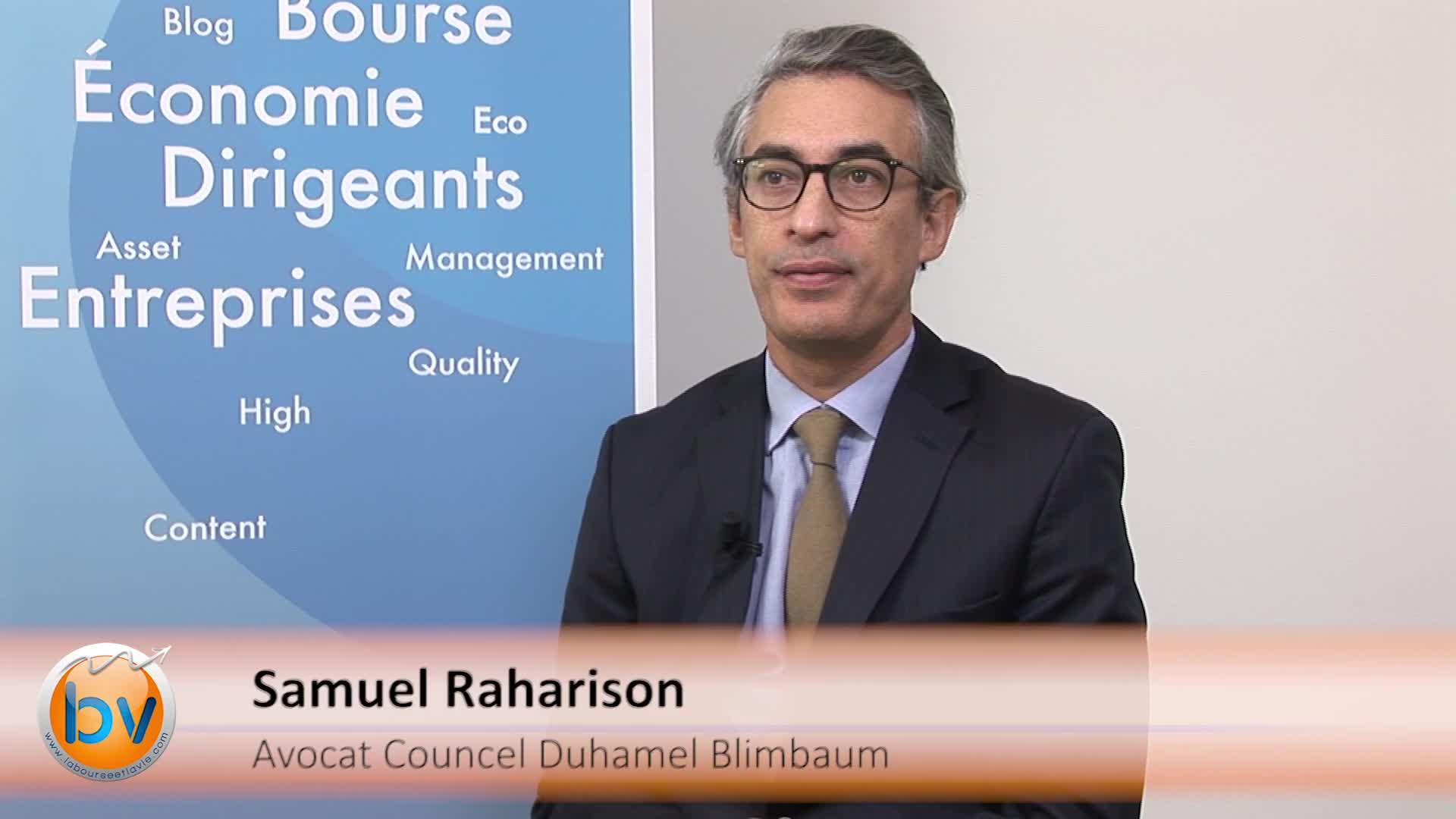 """Samuel Raharison Avocat Councel Duhamel Blimbaum : """"Une nouvelle source de financement pour les PME"""""""