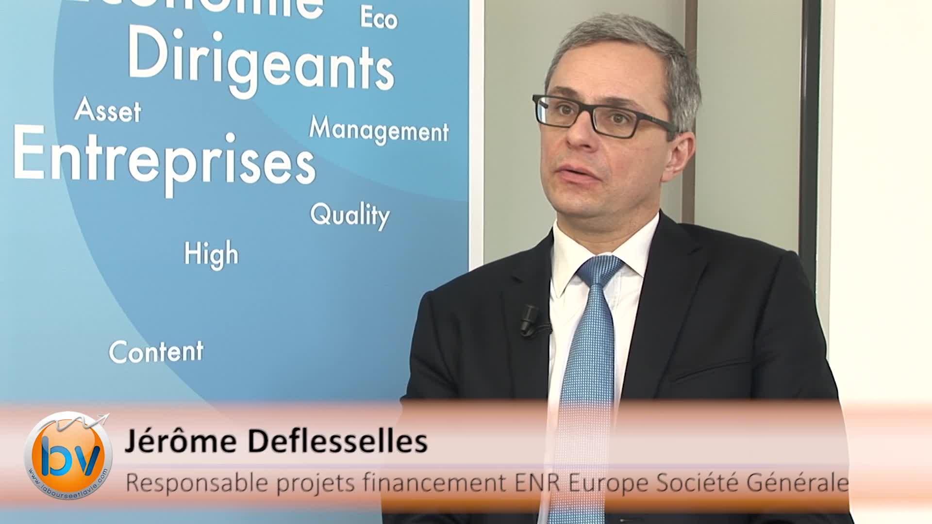 """Jérôme Deflesselles Responsable projets financements ENR Europe Société Générale : """"Des financements qui diffèrent selon les marchés"""""""