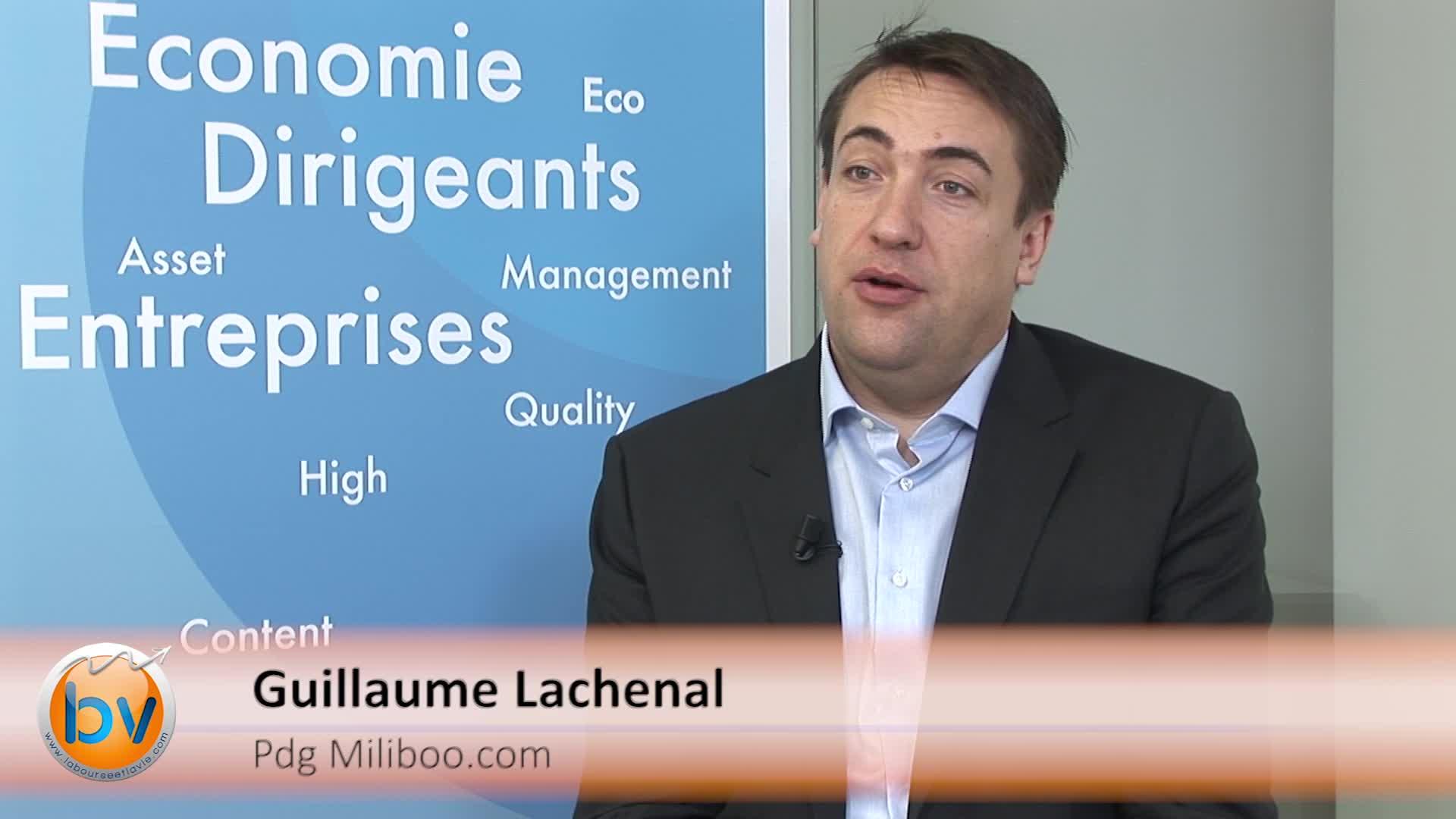 """Guillaume Lachenal Pdg Miliboo : """"Notre offre est unique avec également une disponibilité des produits"""""""