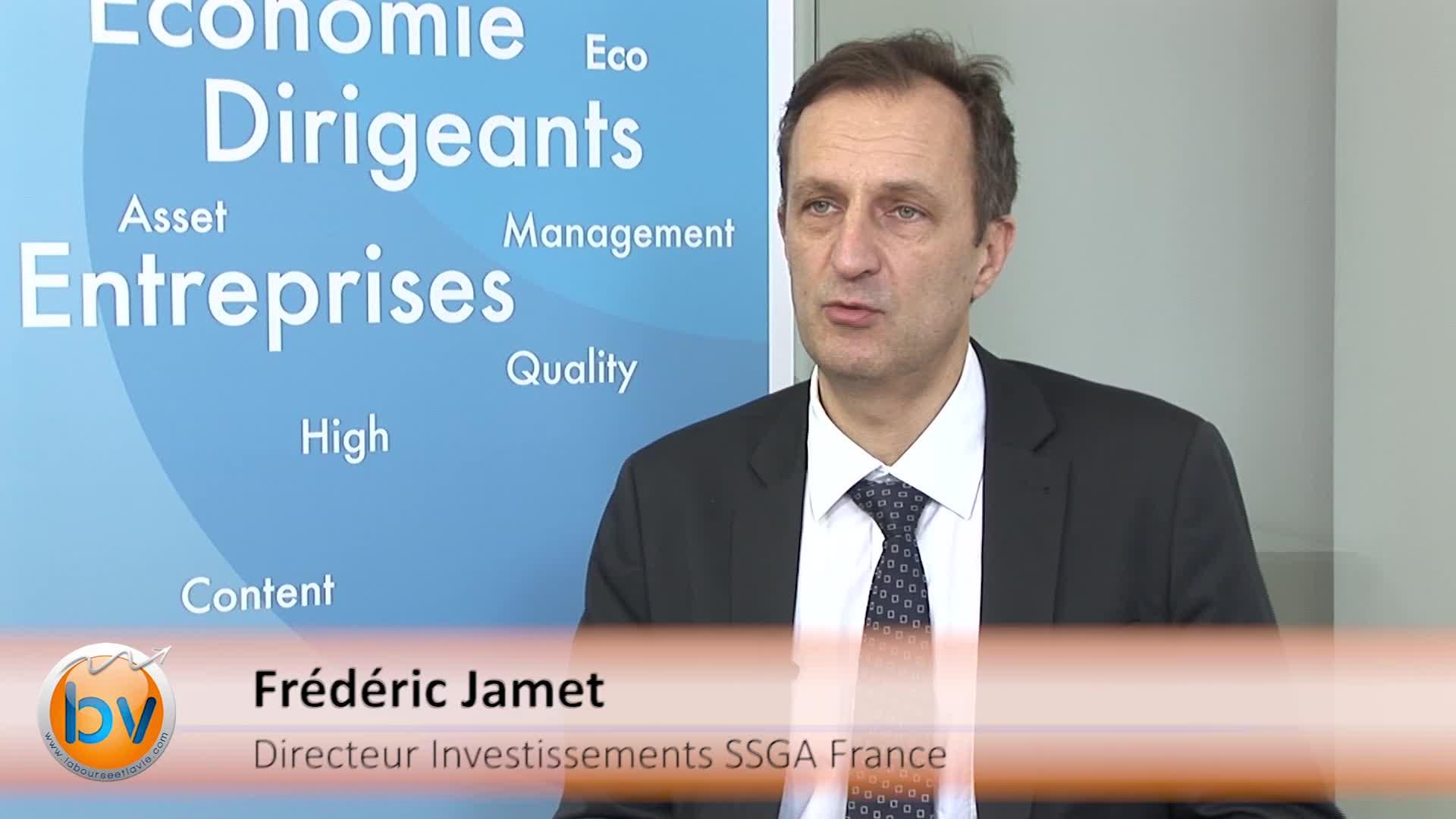 """Frédéric Jamet Directeur des Investissements SSGA France : """"La maitrise du risque"""""""