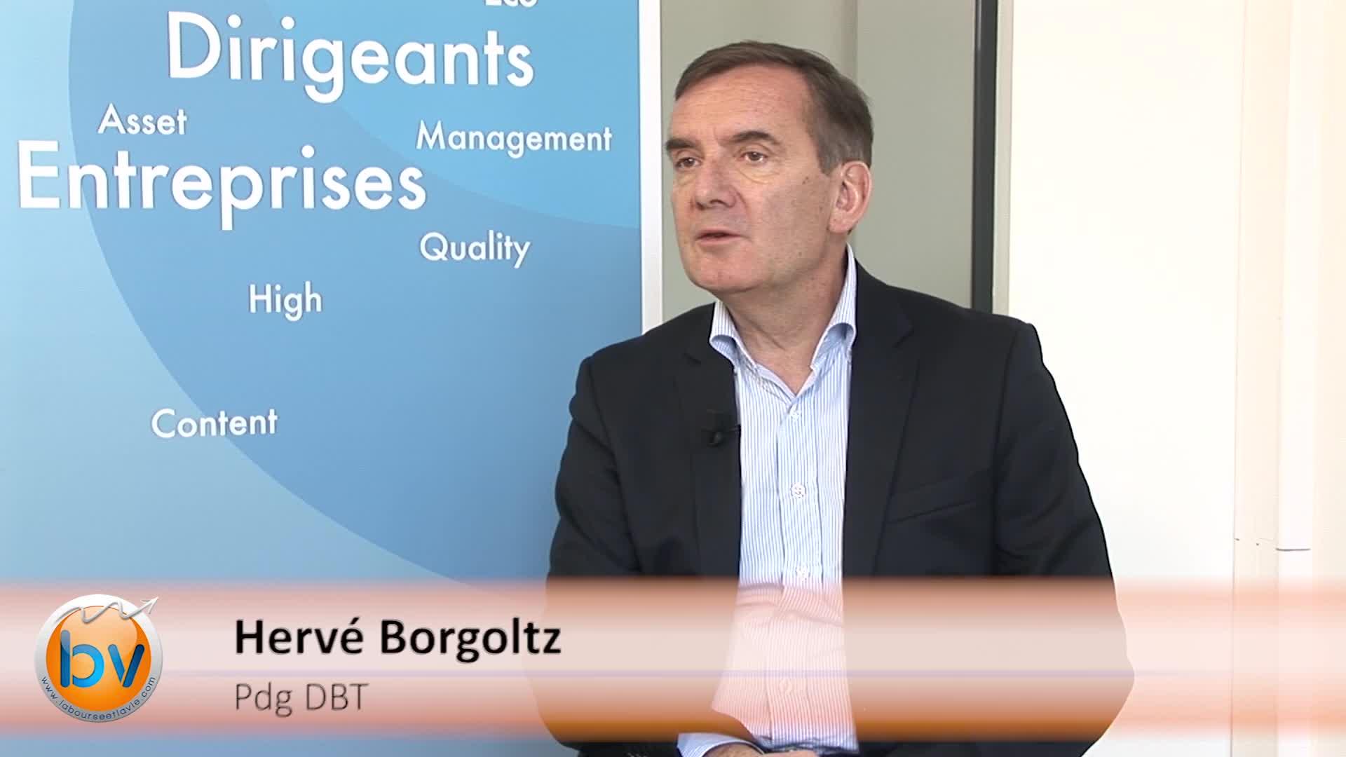 """Hervé Borgoltz Pdg Groupe DBT : """"Nous avons le plus gros parc installé en Europe"""""""