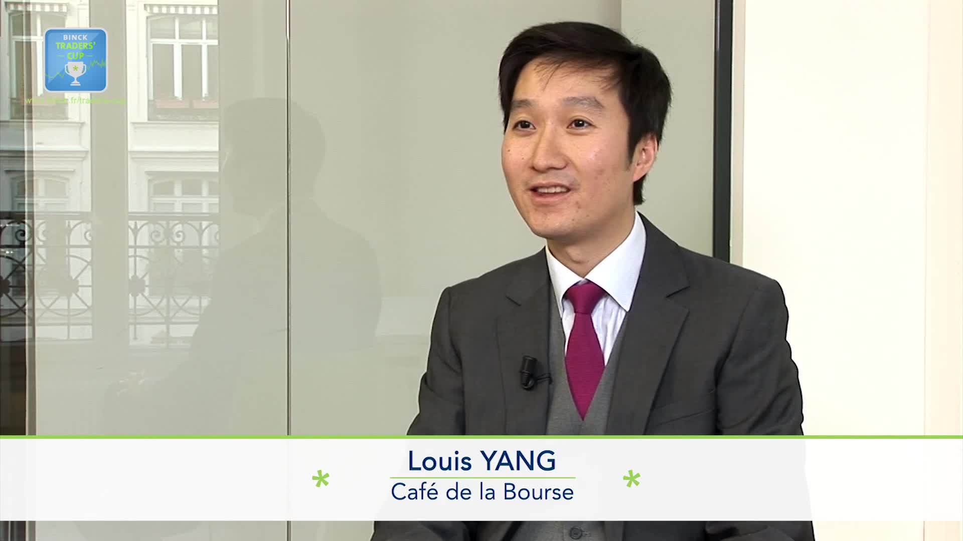 """Louis Yang Café de la Bourse : """"L'idée c'est de constituer un portefeuille avec des fonds"""""""