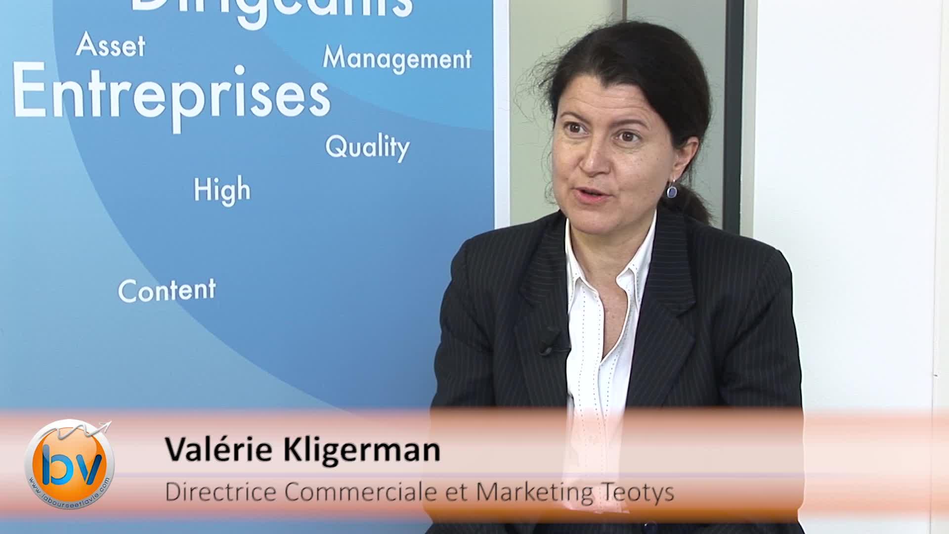 """Valérie Kligerman Directrice Commerciale et Marketing Teotys : """"Une nouvelle culture pour payer à l'heure"""""""