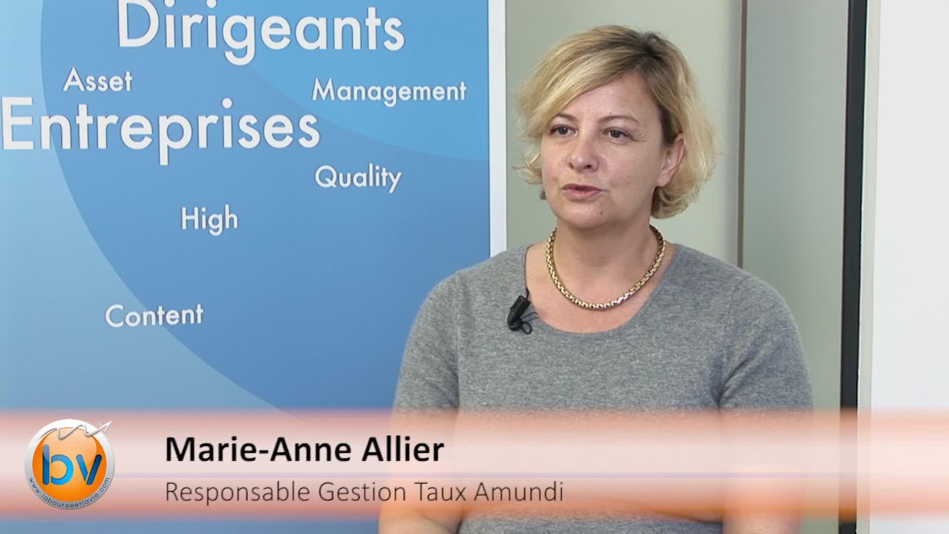 """Marie-Anne Allier Responsable Gestion Taux Amundi : """"La variable qui inquiète c'est celle du prix du pétrole"""""""