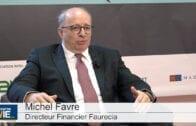 """Michel Favre Directeur Financier Faurecia : """"Nous sommes capables de continuer notre performance"""""""