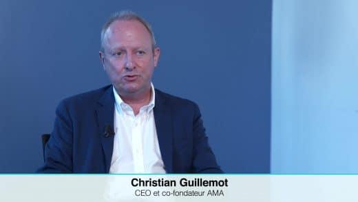 Christian Guillemot CEO et co-fondateur d'AMA. (Tous droits réservés 2021)