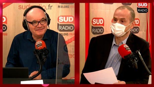 Didier Testot Fondateur de LA BOURSE ET LA VIE TV, Sud Radio avec Philippe David 10 avril 2021