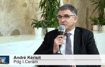 André Kérisit Pdg I.CERAM (Tous droits réservés 2021 www.labourseetlavie.com)
