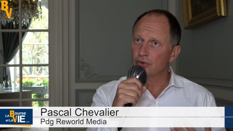 """Pascal Chevalier Pdg Reworld Media : """"Il faut savoir anticiper les évolutions"""""""