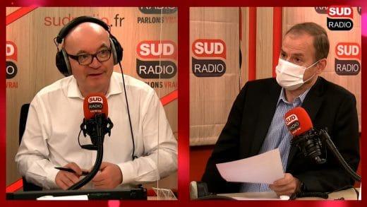 Didier Testot Fondateur de LA BOURSE ET LA VIE TV, Sud Radio avec Philippe David 13 mars 2021