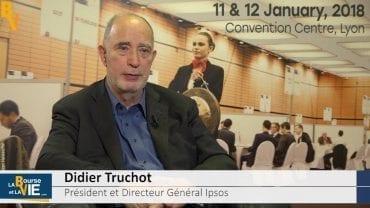 """Didier Truchot Président et Directeur Général Ipsos : """"2018 sera une année intéressante"""" : Stratégie et perspectives de l'entreprise spécialiste du marketing d'opinion"""