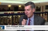 """Jean-Philippe Milon Directeur Général Quantum Genomics : """"Nous nous sommes donnés l'objectif de signer un partenariat dans les 24 mois à venir"""""""