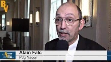 """Alain Falc Pdg Nacon : """"Le back catalogue nous permettra d'augmenter les marges"""" : Introduction en Bourse du spécialiste des jeux vidéos"""