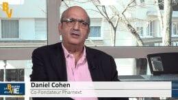 """Daniel Cohen Co-Fondateur de Pharnext : """"Nous sommes les premiers à avoir développé un produit grâce à l'intelligence artificielle"""" : Après la présentation Charcot-Marie-Tooth aux investisseurs, actualité de la #Biotech"""