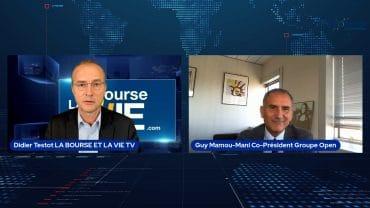 """Guy Mamou-Mani Co-Président Groupe Open : """"Une activité et un ROC supérieurs à ceux de 2019"""" : Résultats semestriels 2021 Groupe Open"""