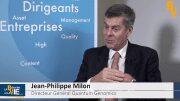 """Jean-Philippe Milon Directeur Général Quantum Genomics : """"Cela nous facilite la tâche pour signer un partenariat demain"""""""