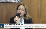 """Lila Vaisson-Bethune Responsable Ingénierie Patrimoniale BNP Paribas Banque Privée : """"La Loi Pacte c'est un véritable Big Bang relatif à l'épargne retraite"""""""