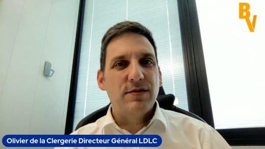 Olivier de la Clergerie, Directeur Général du Groupe LDLC (Tous droits réservés 2021)