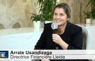 """Arrate Usandizaga Directrice Financière Lleida : """"Nous continuons à regarder de la croissance externe"""""""