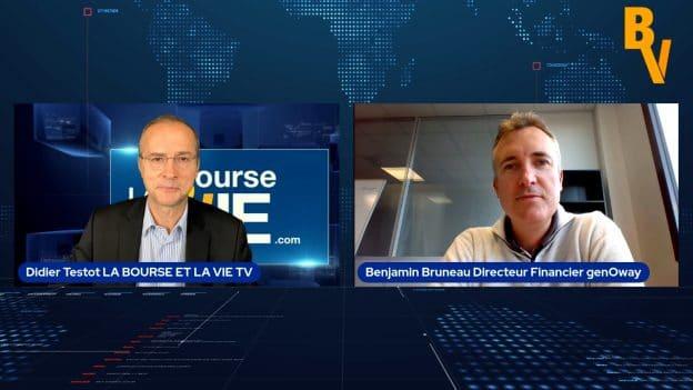 Benjamin Bruneau Directeur Financier genOway (Tous droits réservés 2021 www.labourseetlavie.com)
