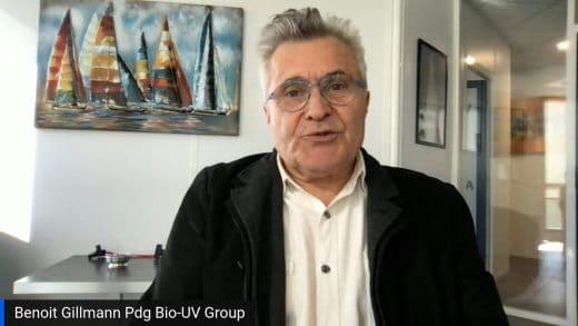 Benoît Gillman le Pdg et fondateur de BIO-UV Group est l'invité de Didier Testot. 5Tous droits réservés 2021 www.labourseetlavie.com)