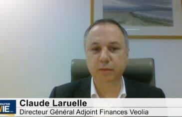 Claude Laruelle Directeur Général Adjoint Finances Veolia (Tous droits réservés 2021 labourseetlavie.com