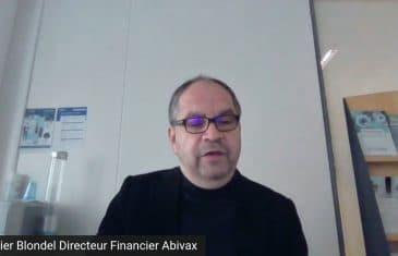 Didier Blondel Directeur Financier Abivax (Tous droits réservés 2021 www.labourseetlavie.com)