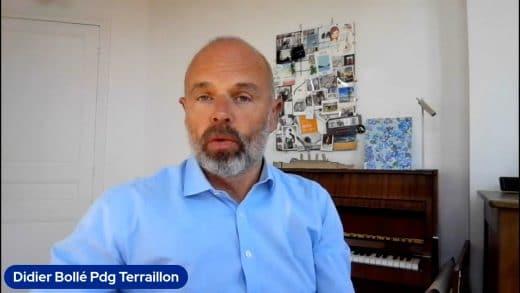Didier Bollé Pdg de Terraillon( Tous droits réservés 2021 www.labourseetlavie.com)