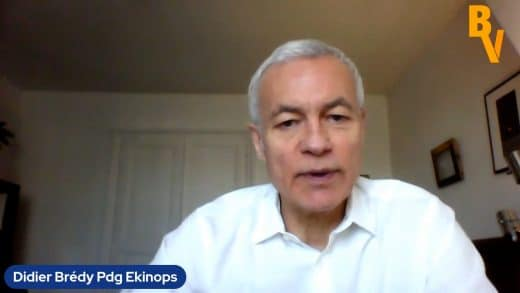 Didier Brédy Pdg Ekinops (Tous droits réservés 2021 www.labourseetlavie.com)