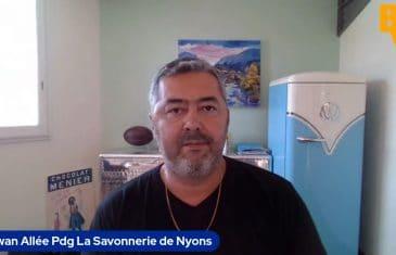 Erwan Allée Pdg Savonneries de Nyons (Tous droits réservés 2021)