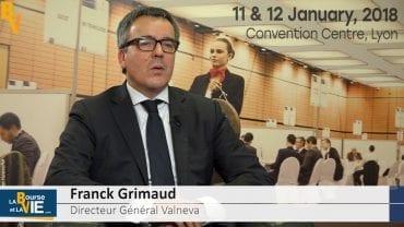 Franck Grimaud Directeur Général Valneva : «Il nous faudrait quatre à cinq vaccins du voyageur» : Valneva est une société de biotechnologies spécialiste des vaccins
