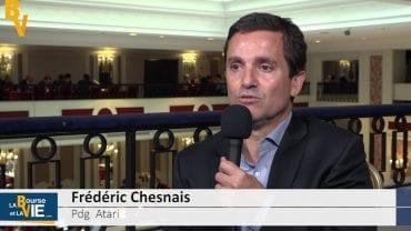 Frédéric Chesnais Pdg Atari : «Un secteur en forte mutation» : Stratégie et perspectives du spécialiste des jeux vidéos
