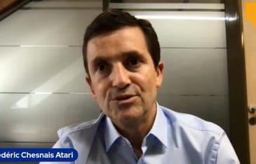 Frédéric Chesnais Atari (Tous droits réservés 2021 www.labourseetlavie.com)