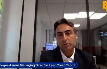 """Georges Asmar Managing Director LeadCrest Capital : """"Nous préférons investir sur des actifs opérationnels"""" (Tous droits réservés 2021 www.labourseetlavie.com)"""