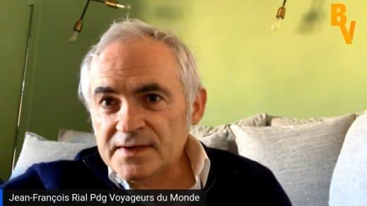 Jean-François Rial Pdg Voyageurs du Monde (Tous droits réservés 2021 www.labourseetlavie.com)