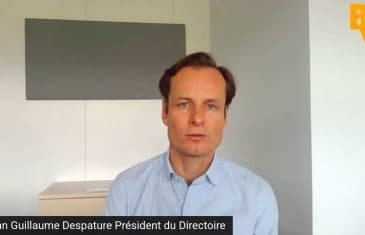 Jean-Guillaume Despature Président du Directoire Somfy (Tous droits réservés 2021 www.labourseetlavie.com)