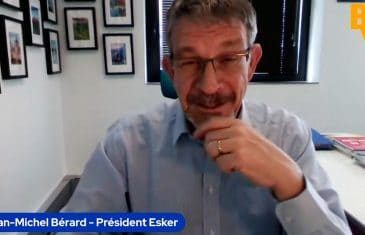 Jean-Michel Esker Pdg Esker (Tous droits réservés 2021 www.labourseetlavie.com)