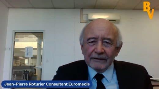 Jean-Pierre Roturier Fondateur Euromedis Groupe (Tous droits réservés 2021 www.labourseetlavie.com)