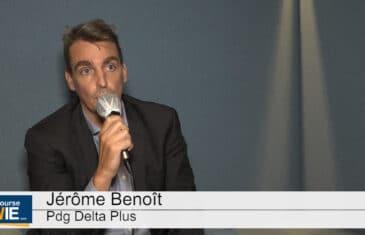 Jérôme Benoît Pdg de Delta Plus (Tous droits réservés 2020 www.labourseetlavie.com)