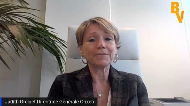 Judith Greciet Directrice Générale Onxeo (Tous droits réservés 2021 www.labourseetlavie.com)
