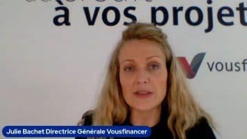 """Julie Bachet Directrice Générale Vousfinancer : """"Nous proposons d'accompagner le client dans la durée"""""""