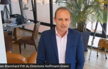Julien Blanchard Président du Directoire Hoffmann Green Cement Technologies (Tous droits réservés 2021 www.labourseetlavie.com)