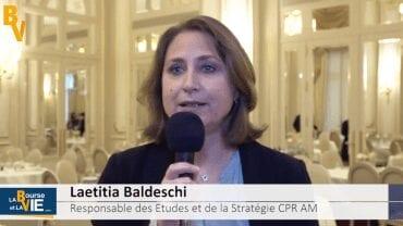 """Laetitia Baldeschi Responsable des études et de la stratégie CPR AM : """" Le monde émergent devrait retrouver un peu d'attrait"""""""
