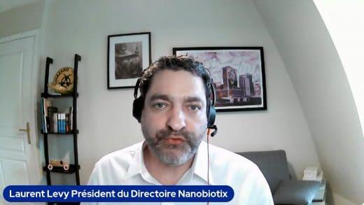 Laurent Lévy Président du Directoire Nanobiotix (tous droits réservés 2021 www.labourseetlavie.com)