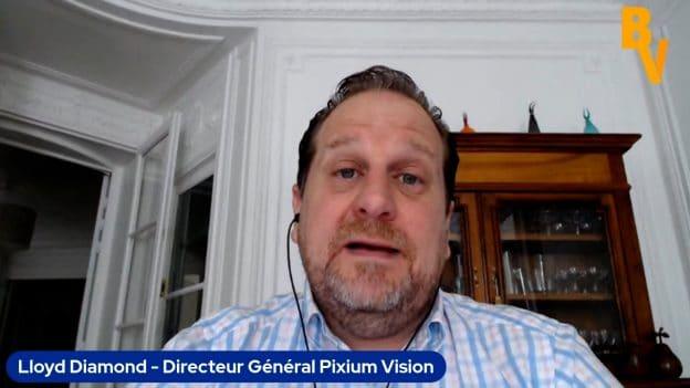 LLoyd Diamond Directeur Général Pixium Vision (Tous droits réservés 2021)